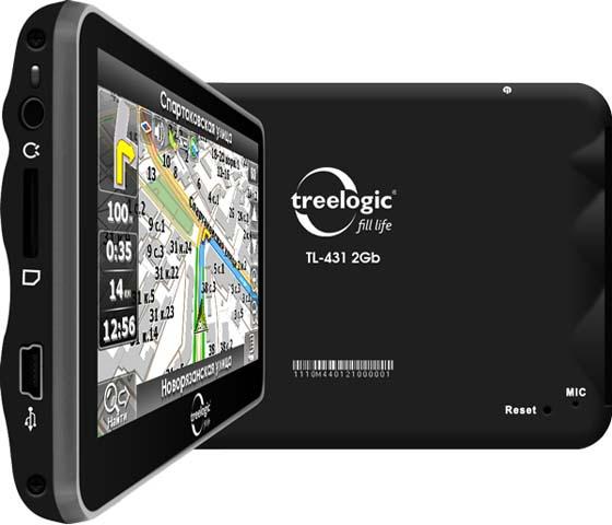 Ремонт GPS навигатора Treelogic
